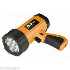 DEFORT LED SCHEINWERFER TASCHENLAMPE LAMPE LEUCHTE STRAHLER WERKSTATT 3.6V