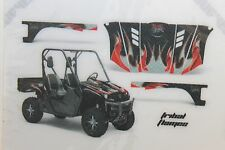Yamaha Rhino 04-12 700/660/450 Graphic Kit Wrap AMR Vinyl Decal Tribal Flames