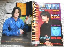 MICHAEL JACKSON - MAGAZINE BLACK & WHITE N° 32 COMPLET - COLLECTOR - 2001