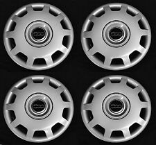 """SET OF FOUR (4) Wheelcovers fits FIAT 500 2010 - 2015 15"""" Hubcap Rim cover NEW"""
