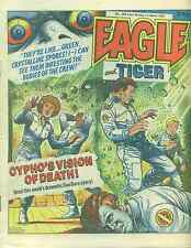 EAGLE & TIGER #206 British comic book March 1, 1986 Dan Dare VG+