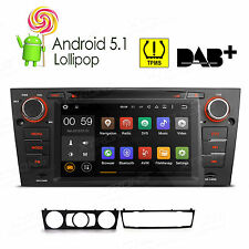 Android 5.1 Car Stereo Radio CD DVD GPS Navigation System OBD2 DAB+ for BMW E90