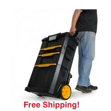 Rolling Tool Box Storage Cabinet Chest Garage Toolbox Portable Mechanic Cart