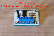 Model Railway LED Belisha Beacon Zebra Crossing Controller , N, O, OO Gauge