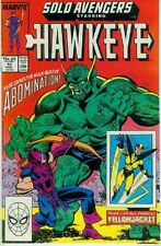 Solo Avengers # 12 (Hawkeye, Yellowjacket) (USA, 1988)