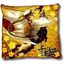 Vocaloid 24'' Hatsune Miku Throw Pillow Gold Cushion Anime MINT