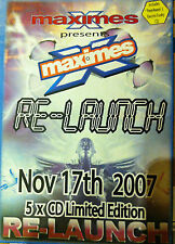 Maximes Re-Launch Party Sat 17th Nov 07, 4 x CD pack, bouncy scouse house donk