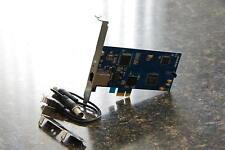 Low profile PCIe Express E1 T1  PRI card, D110E TE120 TE121 TE122 TE110e