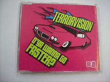 TERRORVISION - D'YA WANNA GO FASTER? (CD1)- CD SINGLE EXCELLENT CONDITION