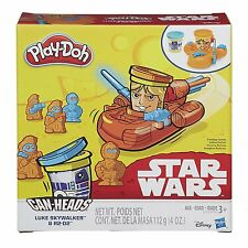 Play-Doh Star Wars Can Heads - Luke Skywalker & R2-D2 *BRAND NEW*