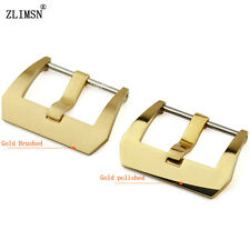 ZLIMSN Watch Band Buckle Stainless Steel Clasp Screwed Buckle 18 20 22 24 26mm