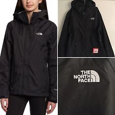 The North Face Womens Black Boreal Full Zip Rain Jacket Outerwear Sm New