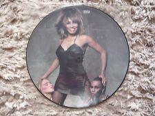 "Tina Turner Let's Stay Together 1983 UK Capitol 12"" Picture Disc Vinyl Single"