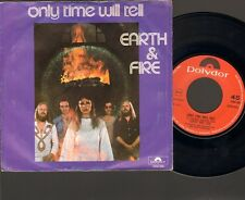 "EARTH & and FIRE Only Time will Tell 7"" SINGLE 1975 FUN Dutch NEDERPOP"