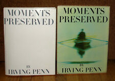 SIGNED Irving Penn Moments Preserved Gravure Color Photographs HC DJ Slipcase