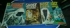 Dell ghost stories 2 6 28 33 horror comics lot movie silver age collection
