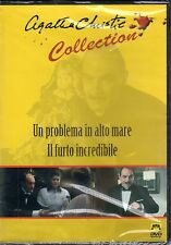 Un problema in alto mare / Il furto incred...- A.CHRISTIE, Film DVD, 1989- ST642