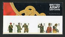 QEII 2007 Presentation Pack British Army Uniforms stamps