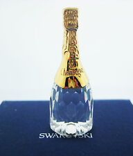 SWAROVSKI AUSTRIAN CRYSTAL MEMORIES CHAMPAGNE BOTTLE BRAND NEW