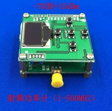 1-8000Mhz OLED RF Power Meter 55~-5 dBm 1nW~2W Sofware RF Attenuation Value