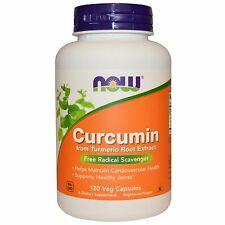 Now Foods Curcumin - 120 Vcaps - Powerful Antioxidant for Cardiovascular Health