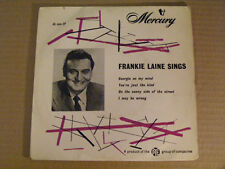 FRANKIE LAINE Sings   Mercury UK 1950s P/S EP