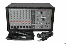 Phonic PowerPod 740 Plus 440W 7-Channel Powered Mixer with Digital Effects - NEW