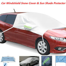 Car Windshield Side Mirror Snow Cover & Sun Shade Protector - Fit  Car Small SUV