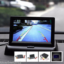"""4.3"""" Foldable Digital HD LCD Color Monitor Screen Car Reverse Parking Rearview"""