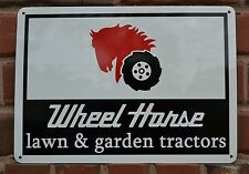 Wheel Horse Garden & Lawn Tractors Garage Mechanic Shop Sign Advertising 7day