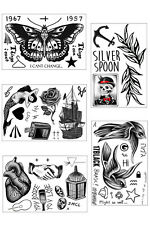 Harry Styles Temporary Tattoo Sheets - Bundle of 5
