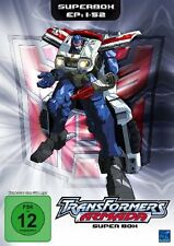 TRANSFORMERS - ARMADA ( Complete all 52 Episodes )  - Region2/UK - 4 DVDs BOX