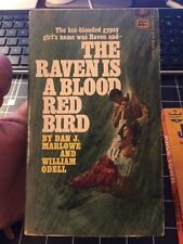 The Raven Is A Blood Red Bird By Dan Marlowe 1967 Gga Collectible Paperback Rare