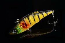 1pc VIB  Mepps 8cm/11.8g Fishing tackle peche 3D Eye Plastic Lure baits bass