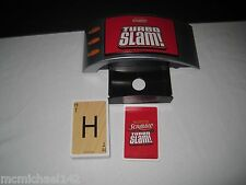 Scrabble Electronic Turbo Slam Hasbro Family Night Card Word Game Sound Effects
