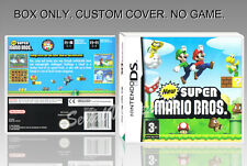 NEW SUPER MARIO BROS. ENGLISH. DS. COVER CUSTOM + ORIGINAL BOX. (NO GAME)