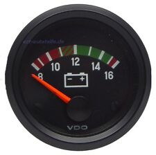 VDO International Voltmeter 8-16 Volt (126.190)