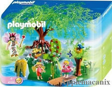 NIB/NEW/SEALED Playmobil 4199 The Fairy Garden Deluxe Set Retired Fantasy Rare