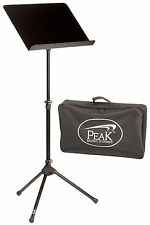 Peak SMS-32 Flat Panel Sheet Music Stand with Carry Bag