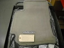 2000 - 2004 Toyota Avalon, OEM Carpet Floor Mats, Stone Gray,   PT208-07000-23