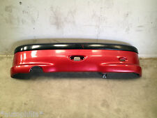 PEUGEOT 206 GTI 2000 3 DOOR REAR BUMPER BARE IN RED