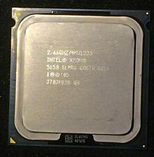 intel Xeon X 5150, two Cores, 4M Cache, 2.66 GHz, 1333 MHz, socket LGA771