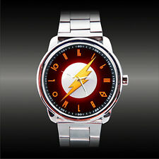 The Flash Scarlet Speedster Barry Allen DC Comic Justice League Kryptonian Watch
