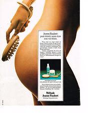 PUBLICITE ADVERTISING  1981   JEANNE PIAUBERT  cosmétiques
