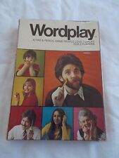 Vintage 1973 Game People Love To Play Wordplay Game ~ Brand New In Box.
