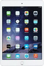 Apple iPad mini 3 64GB, Wi-Fi + Cellular (Unlocked), 7.9in - Silver