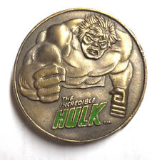 "1979 Incredible Hulk Original 2.25"" Wide Metal Belt Buckle- Lee Co- FREE S&H"