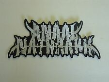 ANAAL NATHRAKH BLACK METAL EMBROIDERED BACK PATCH