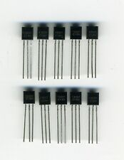 LOT DE 10 x MJ13001 - TRANSISTORS NPN - TO92 - HAUTE TENSION & FORT COURANT