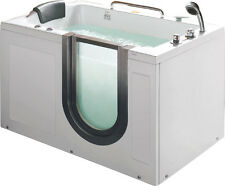 New Deluxe Hydrotherapy Water / Air Whirlpool Massage Walk In Bathtub Tub SPA